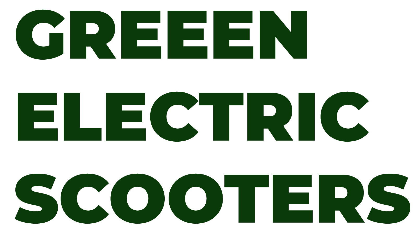 Green Electric Scooters